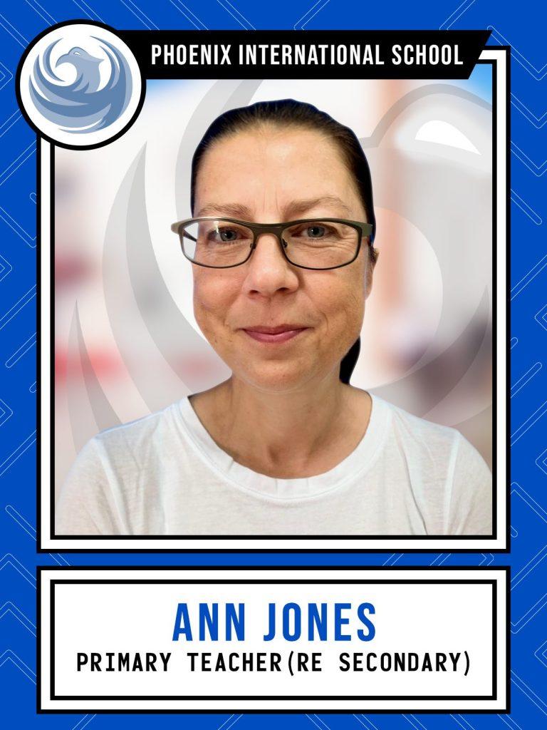 Ann Jones - Primary Teacher