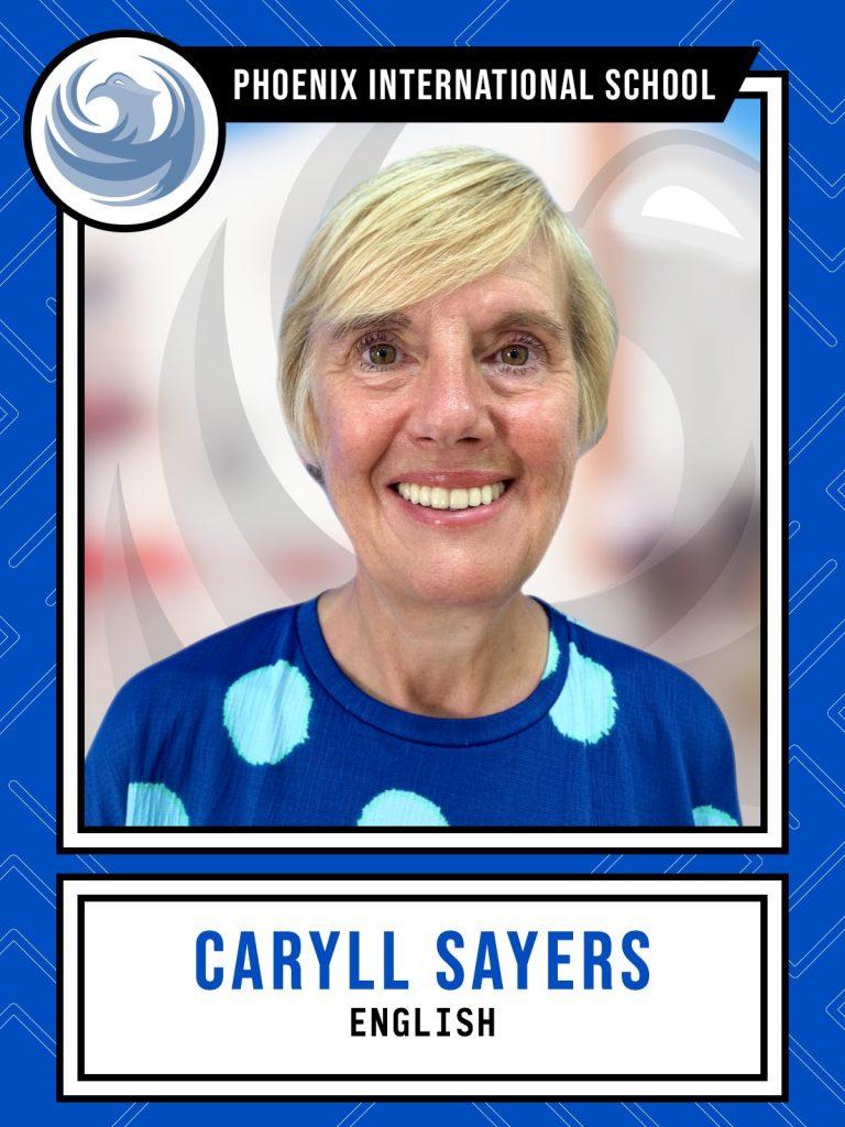 Caryll Sayers - English