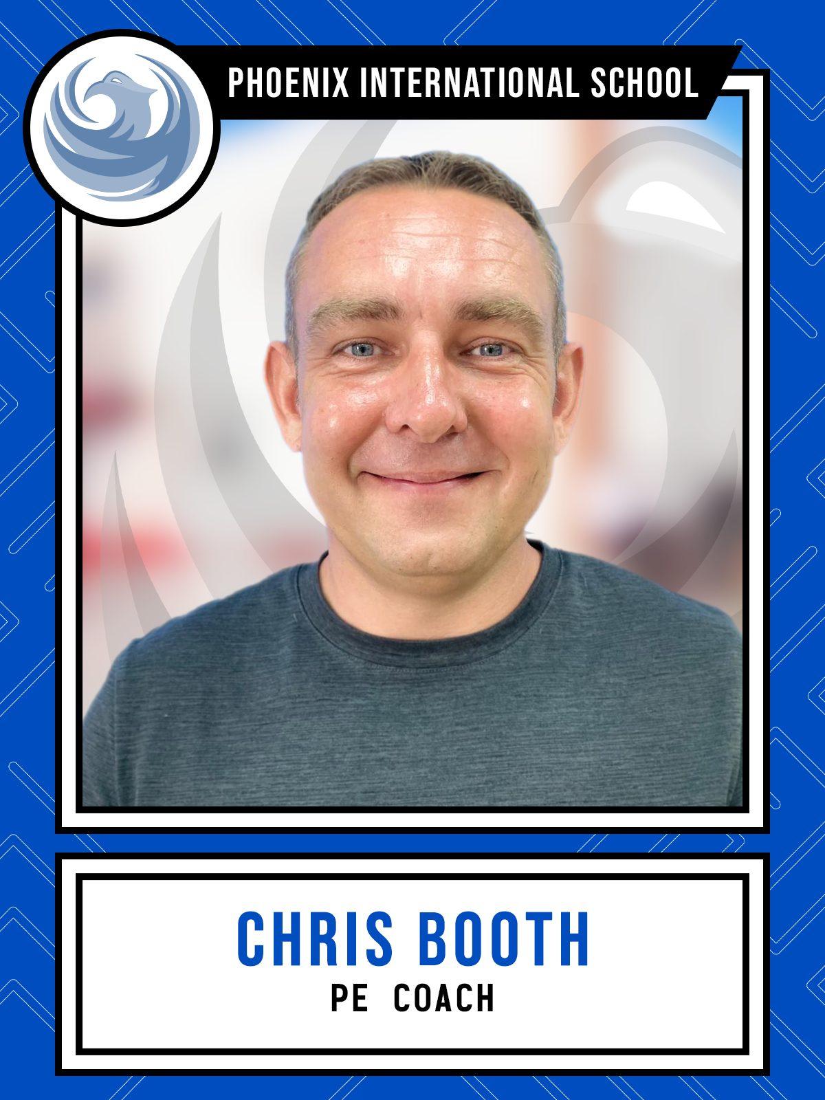 Chris Booth - PE Coach
