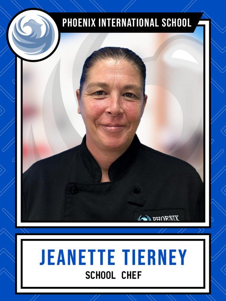 Jeanette Tierney - School Chef