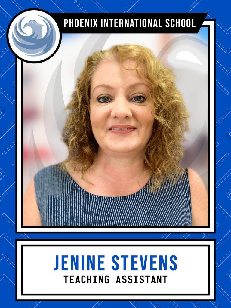 Jenine Stevens - Teaching Assistant