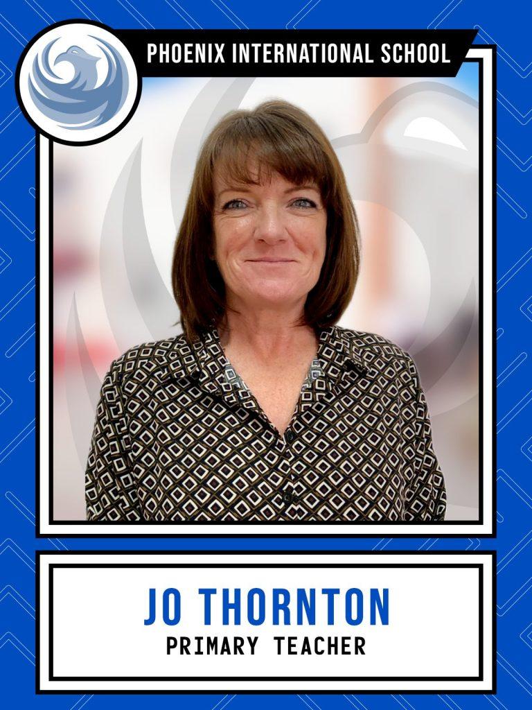 Jo Thornton - Primary Teacher