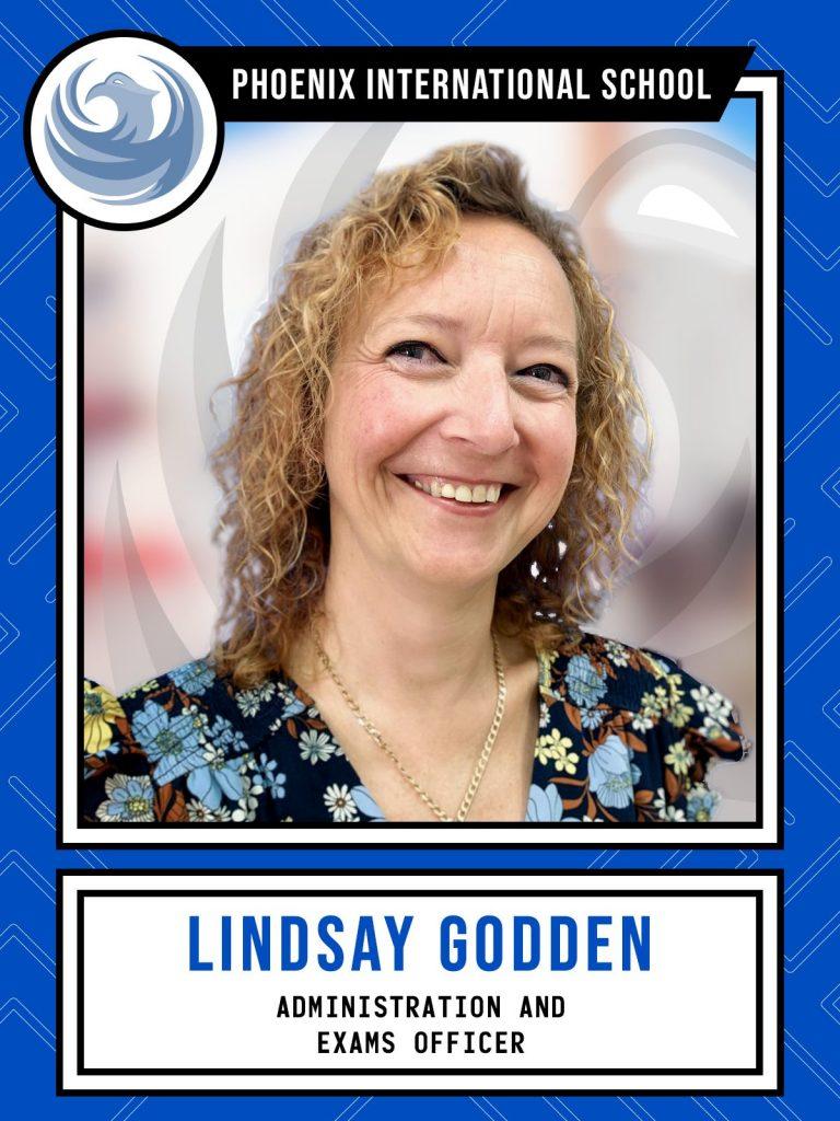 Lindsay Godden - Administration and Exams Officer