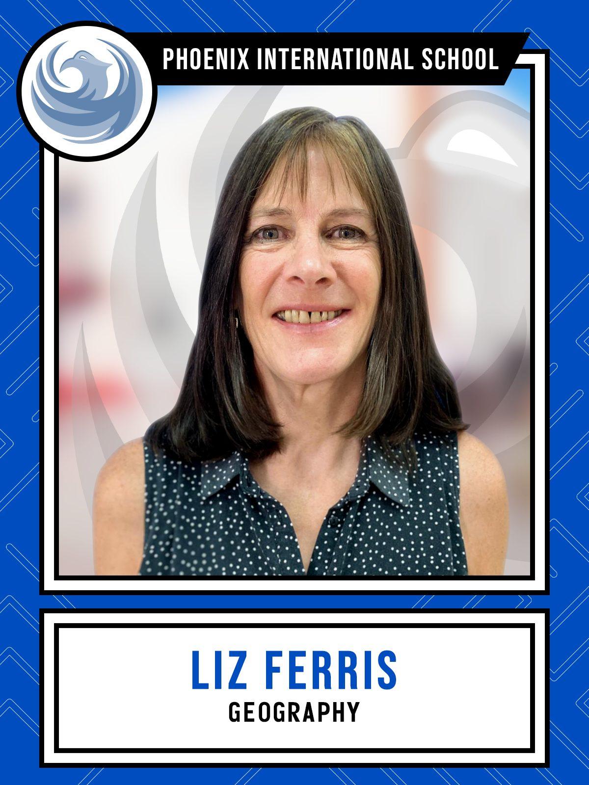 Liz Ferris - Geography