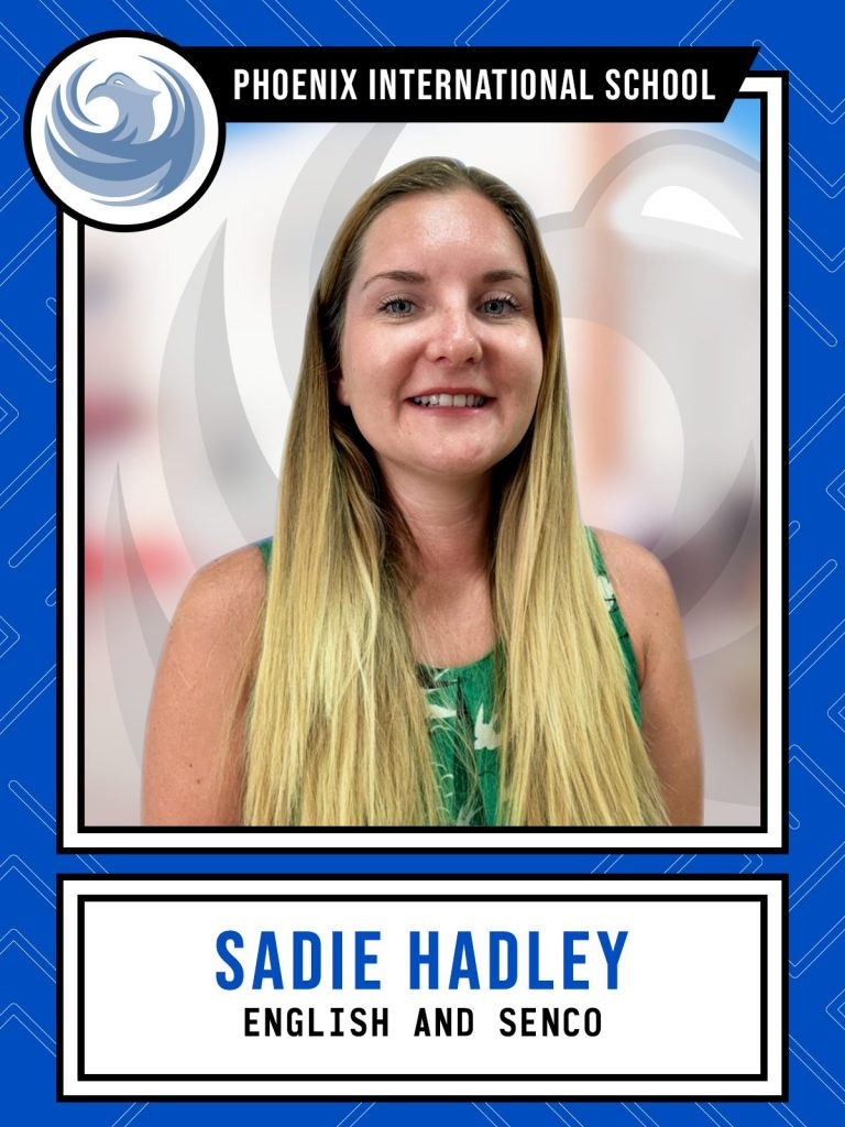 Sadie Hadley - English and SENCo