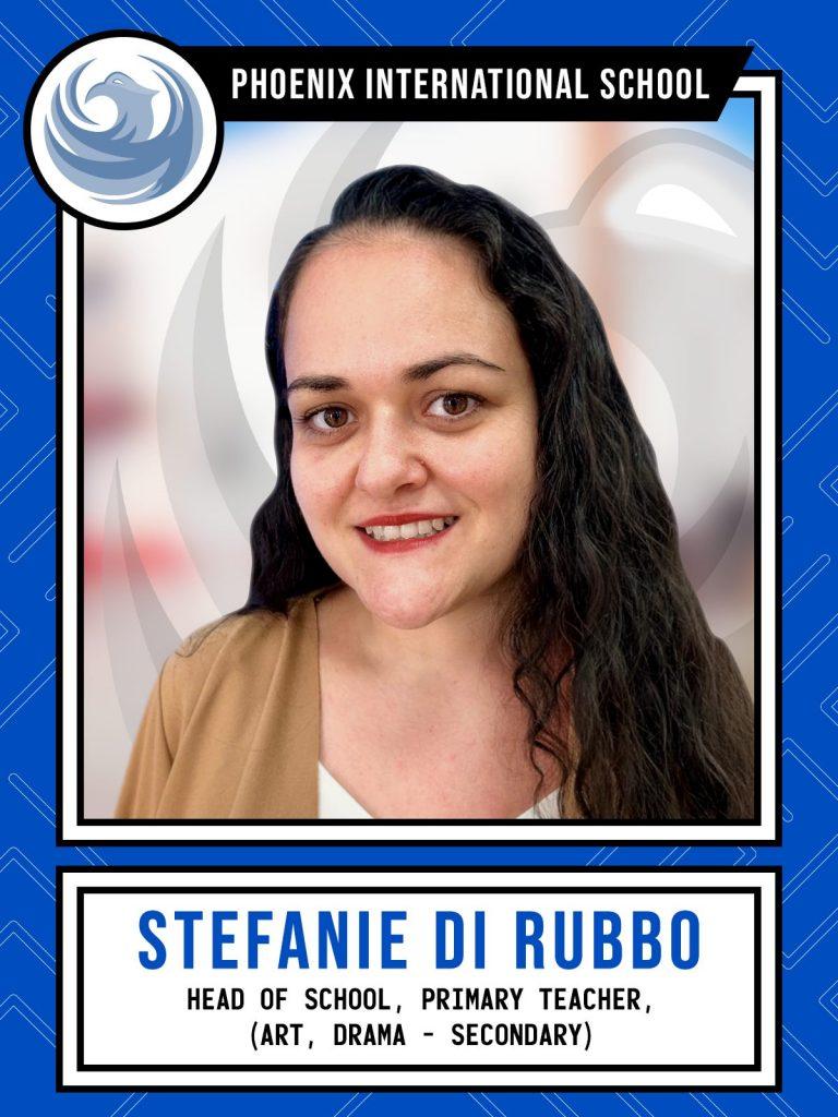 Stefanie Di Rubbo - Head of School Primary Teacher