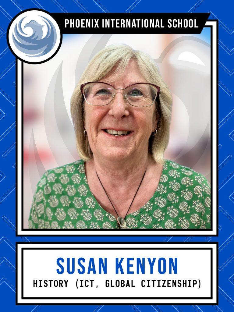 Susan Kenyon - History