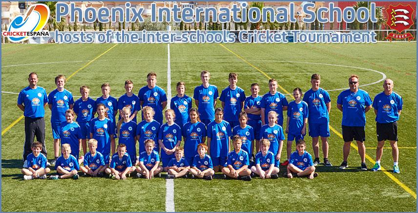 Phoenix International School - Cricket Hosts